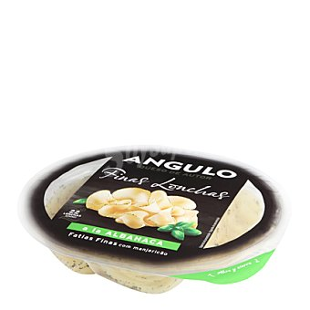 Angulo Queso a la albahaca en lonchas finas 100 g