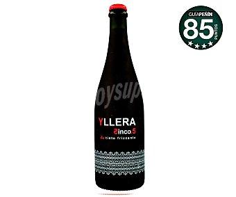 Yllera Vino tinto frizzante de la Tierra de Castilla y León CINCO.5 botella 75 cl