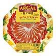 Jamón curado al plato finas lonchas 80 g Argal