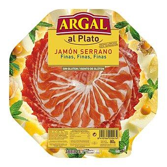 Argal Jamón curado al plato finas lonchas 80 g