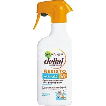 Delial Garnier Leche solar niños F30 Spray 300 ml