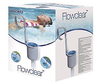 BESTWAY Skimmer de superficie resistente a la corrosión con adaptador para piscinas de estructura tubular 1 unidad