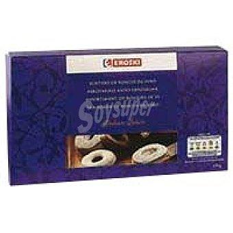Eroski Surtidos de roscos de vino con chocolate Estuche 280 g