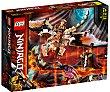 Juego de construcción Dragón de Batalla de Wu con 321 piezas 71718  LEGO Ninjago