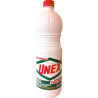 UNEX Amoniaco perfumado light Botella 1,5 l