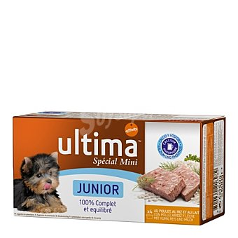 Ultima Affinity Completmento Mini Junior Pack 4 x 150 gr