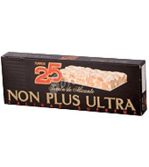 25 Turrón Alicante non plus ultra artesano 400 g