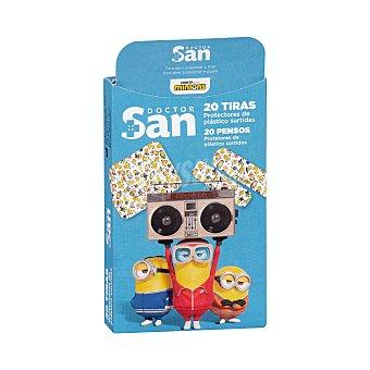 Doctor san Tiritas protectoras infantiles 2 tamaños (minions) Caja 20 u