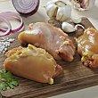 Contras de pollo de corral Bandeja de 600.0 g. Coren