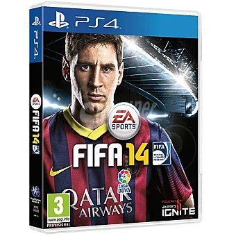 PS4 Videojuego fifa 14  1 Unidad