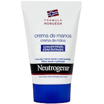 Neutrogena Crema de manos sin perfume Tubo 50 ml