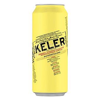 Keler Cerveza rubia nacional  Lata de 50 cl