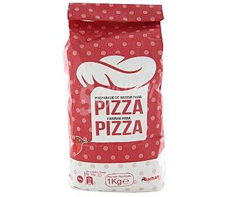 Auchan Preparado de harina para pizza 1 kg