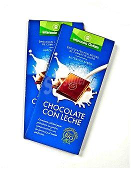 Intermón Oxfam Chocolate con leche biológico 100 gramos