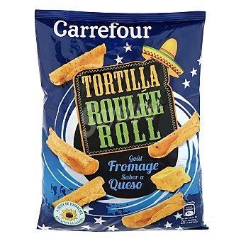 Carrefour Nachos roller con sabor a queso 125 g