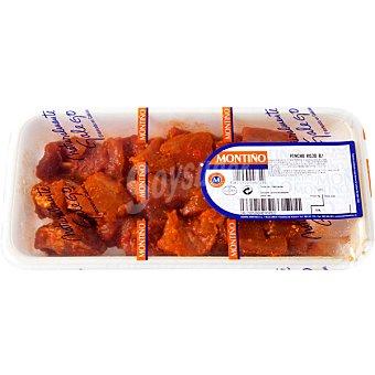 Montiño Pinchos morunos adobados de cerdo peso aproximado Bandeja 400 g