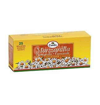 Condis Manzanilla Camamilla 25 unidades