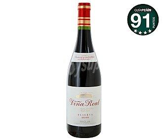VIÑA REAL Vino tinto reserva con denominación de origen Rioja botella de 75 centilitros