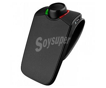Parrot minikit neo 2 hd Manos libres para coche, voz HD, conexión Bluetooth, reconocimiento de voz, hasta 2 dispositivos simultáneamente