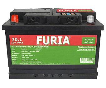 FURIA Batería de Automóvil de 12v y 70.1 Amperios 1 Unidad