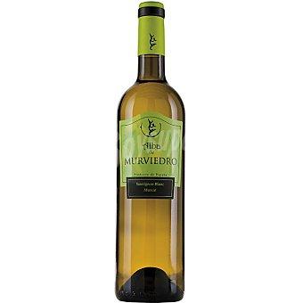 ALBA DE MURVIEDRO Vino blanco sauvignon blanc y muscat D.O. Valencia botella 75 cl Botella 75 cl
