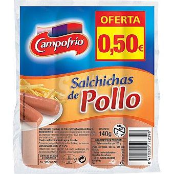 Campofrío Salchichas pollo 140g