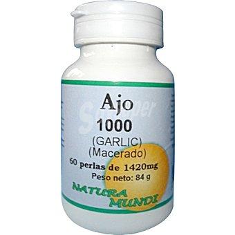 NATURA MUNDI Perlas de ajo 1420 mg Envase 60 unidades