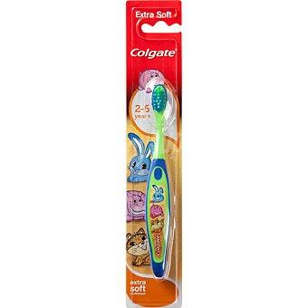 Colgate Cepillo dental Smiles infantil extra soft de 2 a 6 años blister 1 unidad 1 unidad