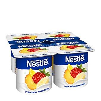 Nestlé Yogur sabor macedonia 4 unidades de 120 g
