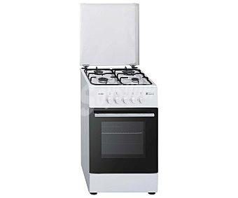 EUROTECH Cocina horno gas Butano, independiente VCH 5055, alimentación horno: gas, zonas cocción: 4, A:50cm,H:82cm,F:56cm