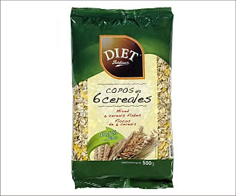 Diet Rádisson Copos de 6 cereales diet-radisson 500 g