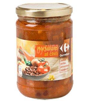 Carrefour Hortalizas al chili 530 g