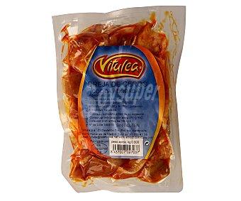VITULEA Oreja de cerdo adobada 500 gramos