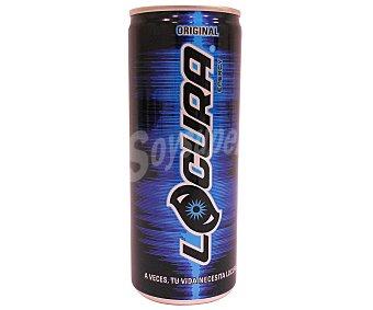 LOCURA Bebida energética (energy Drink) 25 Centilitros