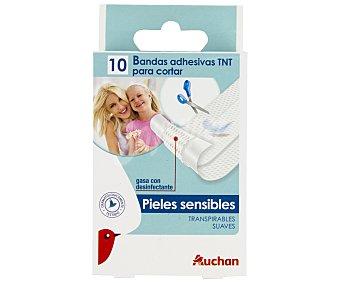 Auchan Apósito Elástico10x6cm 10 Unidades
