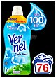 Suavizante concentrado frescor Cielo Azul Botella 76 dosis Vernel