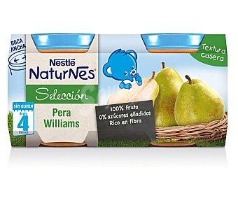 Naturnes Nestlé Tarrito de pera williams 2 unidades de 200 gramos