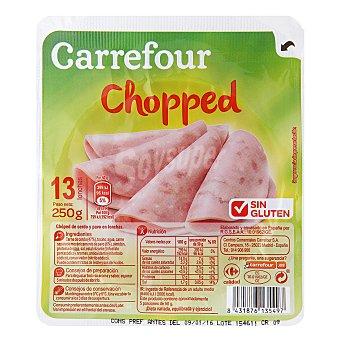 Carrefour Chopped york en lonchas - Sin Gluten 250 g