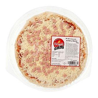TRIGAL Pizza de jamón y queso 325 g