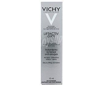VICHY Liftactiv Tratamiento potente re-tensor anti-arrugas , piel sensible con agua termal calmante y regenerante Tubo 15 ml