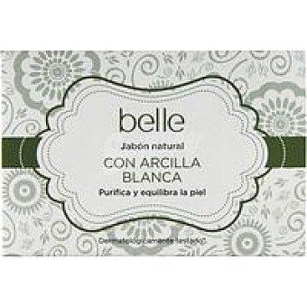 ARCILLA BLANCA Jabón natural con belle Pastilla 125 g