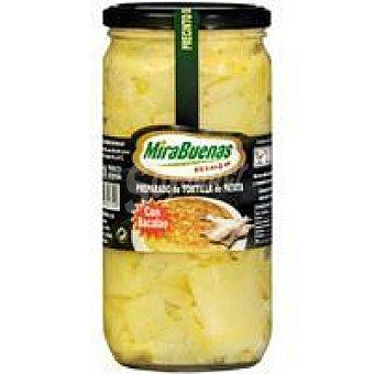 MIRABUENAS Preparado de patata con bacalao Tarro 700 g
