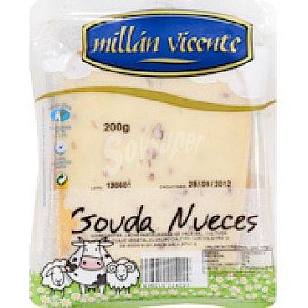 M. Vicente Queso Gouda con nueces 200 g