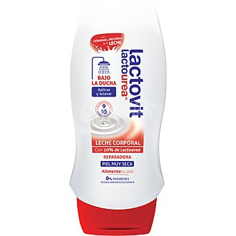 LACTOVIT Lactourea Leche corporal bajo la ducha reparadora para piel muy seca frasco 230 ml Frasco 230 ml