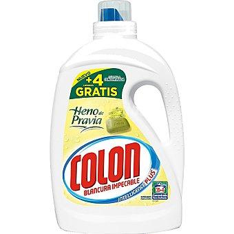 Colón detergente máquina líquido gel heno de pravia concentrado  botella 20 dosis + 4 gratis