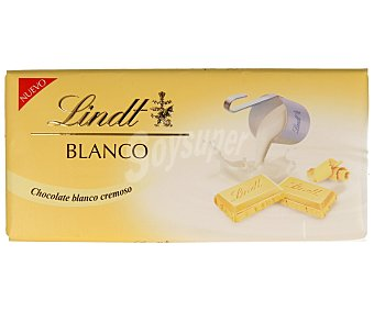 Lindt Chocolate blanco cremoso 100 g