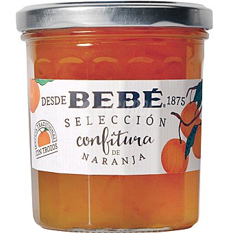 Bebé Selección confitura de naranja receta tradicional con trozos Frasco 370 g