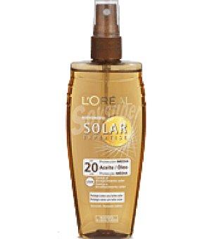 Solar Expertise L'Oréal Paris Aceite protector factor de protección 20 150 ml
