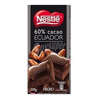 Nestlé Chocolate negro tableta de 200 g