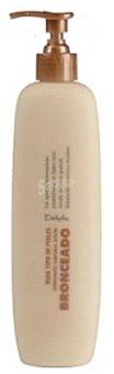 Deliplus Leche corporal efecto bronceado (dosificador) Botella 400 cc